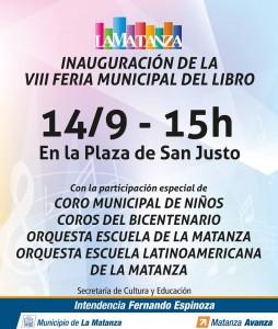 VIII Feria Municipal del libro